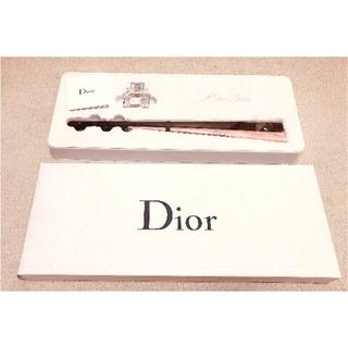 ディオール(Dior)の最終値下げ 新品未開封 Dior ディオール ノベルティ 扇子+香水セット(ノベルティグッズ)