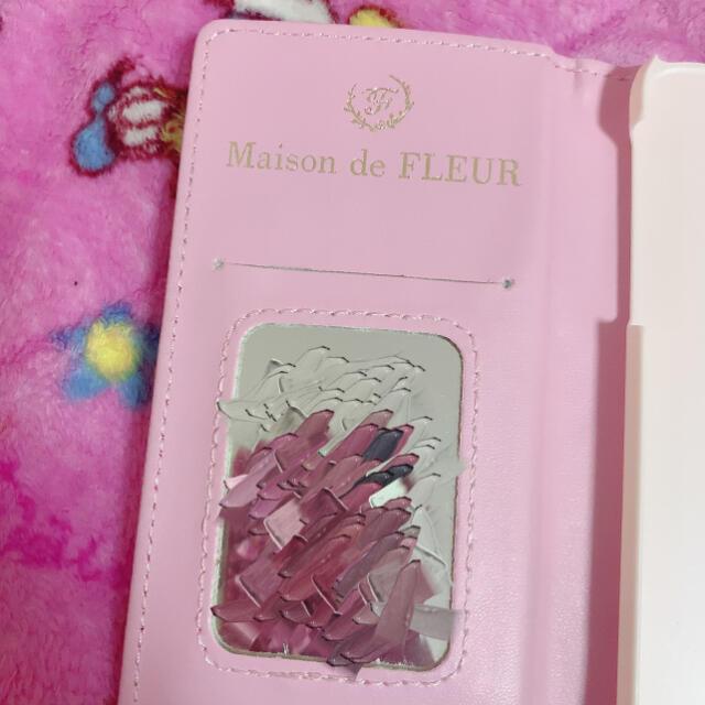 Maison de FLEUR(メゾンドフルール)のメゾンドフルール iPhoneケース スマホ/家電/カメラのスマホアクセサリー(iPhoneケース)の商品写真