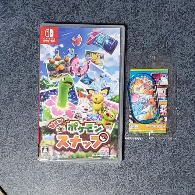 Nintendo Switch(ニンテンドースイッチ)のNew ポケモンスナップ Switch エンタメ/ホビーのゲームソフト/ゲーム機本体(家庭用ゲームソフト)の商品写真
