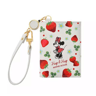Disney - Disney ミニー IDカード・定期・パスケース リール付き