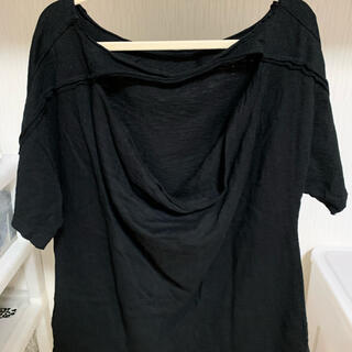 エゴイスト(EGOIST)のEGOIST バックオープンTシャツ(Tシャツ(半袖/袖なし))