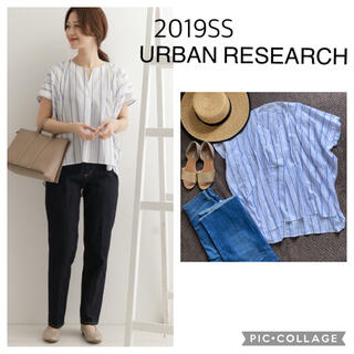 URBAN RESEARCH - 2019SS アーバンリサーチ ルーズシルエットシャツ