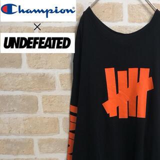 Champion - Champion UNDEFEATED コラボ Tシャツ 長袖 ロンT
