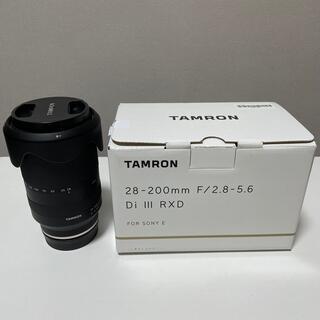 TAMRON - TAMRON タムロン 28-200mm F2.8-5.6 Di III RXD