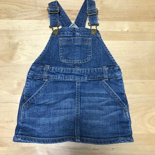 babyGAP - GAP デニムジャンパースカート 90