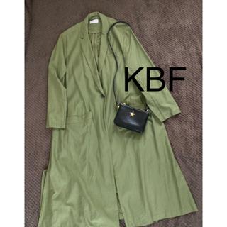 KBF - KBF ケービーエフ チェスター トレンチコート ゆるっと ロング
