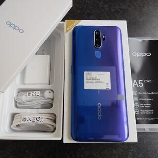 OPPO - OPPO A5 2020  CPH1943 ブルー SIMフリー