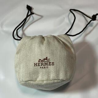 Hermes - 新品★未使用品■HERMES エルメス 時計 保存袋 ヘリンボーン 正規代理店