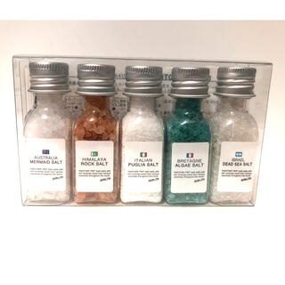 【未使用品】入浴剤「リトルアナザートリップ」 ミニボトル5個セット
