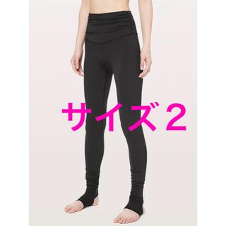 ルルレモン(lululemon)のStill Mind Tight 28 ブラック サイズ2(レギンス/スパッツ)