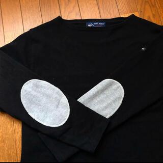 SAINT JAMES - セントジェームス  エルボーパッチ バスクシャツ T1