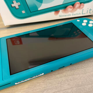 Nintendo Switch - 【美品】Nintendo switch lite ターコイズ