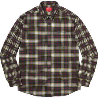 シュプリーム(Supreme)の試着なし XL Supreme Tartan Flannel Shirt(シャツ)