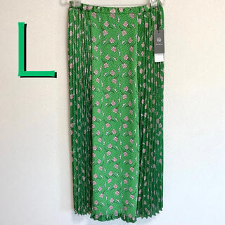 アンダーカバー(UNDERCOVER)の【完売品】新品 GU アンダーカバー コンビネーションスカート  グリーン L(ロングスカート)