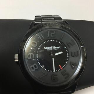 Angel Heart - エンジェルハート ブラックレーベルアナログ腕時計