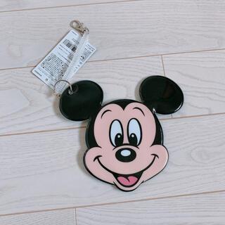 ディズニー(Disney)の【新品未使用】レトロミッキー ミッキー パスケース(名刺入れ/定期入れ)