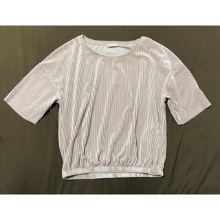 ザラ(ZARA)のZARA Tシャツ カットソー トップス (カットソー(半袖/袖なし))