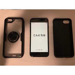 iPhone - Apple  iPhone7 ブラック 128GB SIMフリー 最大容量77%
