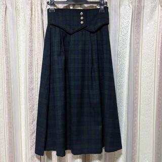 メゾンドフルール(Maison de FLEUR)のコルセットスカート(ひざ丈スカート)