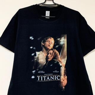 タイタニック Tシャツ 黒 titanic