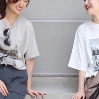 IENA - イエナ ParisフォトTシャツ グレー