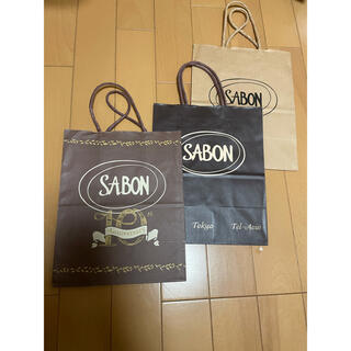 サボン(SABON)のSABON ショップ袋 紙袋 3枚セット(ショップ袋)