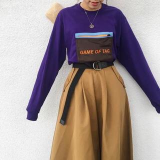 ビームス(BEAMS)のBeams 別注 ロンT デザインTシャツ(Tシャツ(長袖/七分))