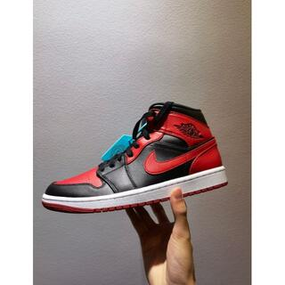 "NIKE - ★新品★Air Jordan 1 Mid ""Banned"" (GS) スニーカー"