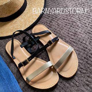 BARNYARDSTORM - バンヤードストーム サンダル