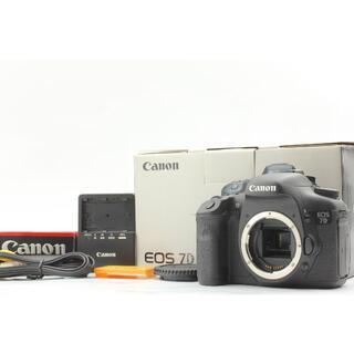★美品★ Canon キャノン EOS 7D ボディ ☆付属品多数・箱付き