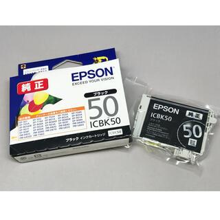 エプソン(EPSON)の◎未使用 EPSON インクカートリッジ 風船 ICBK50ブラック 1個◎(オフィス用品一般)