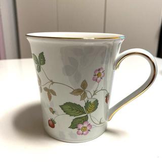 WEDGWOOD - ウェッジウッドワイルドストロベリーマグカップ