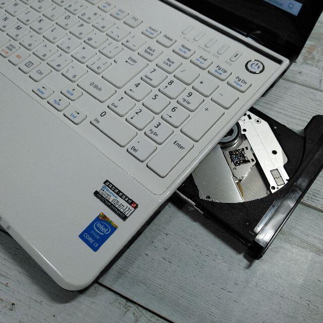 NEC(エヌイーシー)のNEC LS350 ノートパソコン i3 8GB 新品SSD ブルーレイ カメラ スマホ/家電/カメラのPC/タブレット(ノートPC)の商品写真