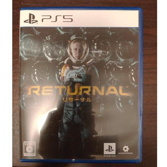 Returnal(リターナル) PS5 エンタメ/ホビーのゲームソフト/ゲーム機本体(家庭用ゲームソフト)の商品写真