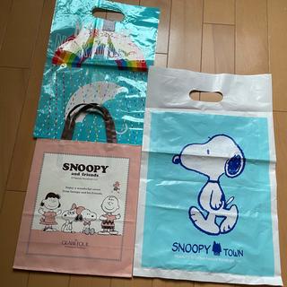 スヌーピー(SNOOPY)のSNOOPY ショッパー 紙袋 2枚セット(その他)