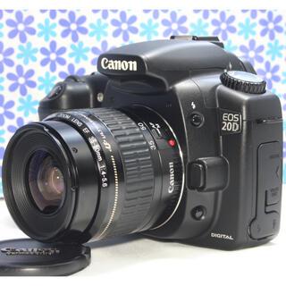 キヤノン(Canon)の極美品❤️Canon EOS 20D レンズセット❤️高画質❤️初心者おすすめ(デジタル一眼)