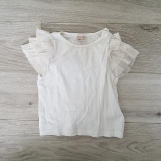 petit main - petitmain 半袖フリルTシャツ 90
