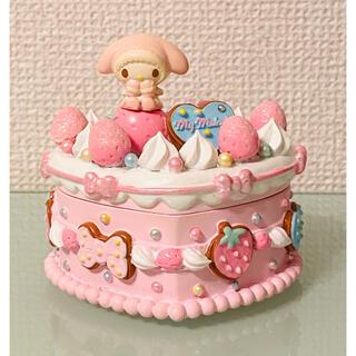 マイメロディ - サンリオ♡マイメロディ♥ケーキ型小物入れ