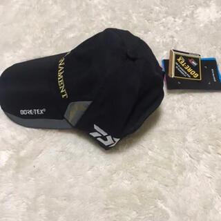 DAIWA - ダイワ GOR-TEX TOURNAMENT キャップ ブラック 撥水加工