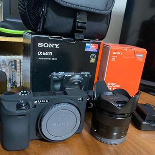 SONY - SONY a6400 + SONY Eマウント E35mm f1.8