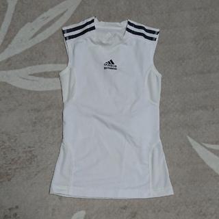 アディダス(adidas)のアディダス 140cm インナー白(Tシャツ/カットソー)