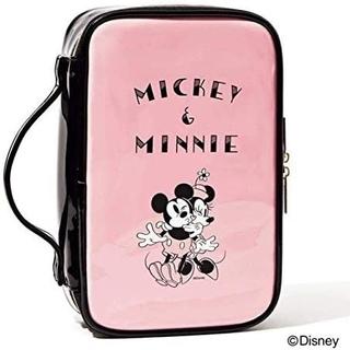 Disney - sweet8月号付録 ミッキー&ミニー ドレッサーポーチ