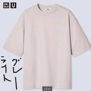 UNIQLO - 【新品タグ付き】ユニクロ エアリズムコットンオーバーサイズTシャツ Tシャツ