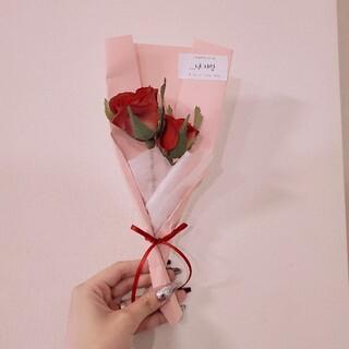 韓国 バラ 花束 A(ドライフラワー)