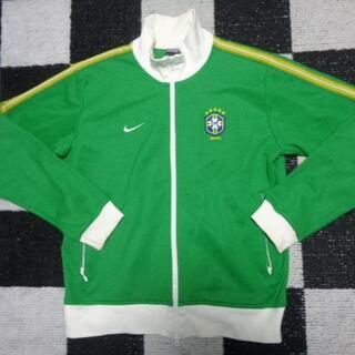 ナイキ(NIKE)の【ブラジル代表】ナイキ社ジャージL188cmサッカー(ウェア)