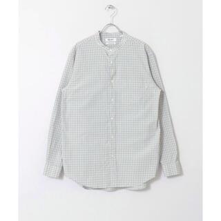 GYMPHLEX - 【新品未使用】ジムフレックス Gymphlex バンドカラーチェックシャツ