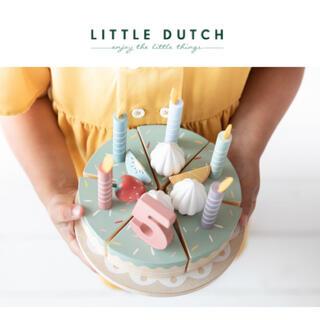 こどもビームス - ▼ Little dutch リトルダッチ ▼木製 バースデーケーキ おままごと