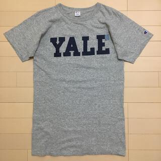 Champion - 80年代 YALE トリコタグ M チャンピオン Tシャツ USA製 グレー