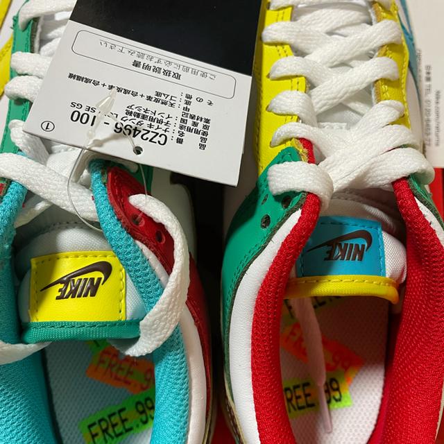 NIKE(ナイキ)のNIKE ナイキ ダンク LOW SE  キッズ/ベビー/マタニティのキッズ靴/シューズ(15cm~)(スニーカー)の商品写真