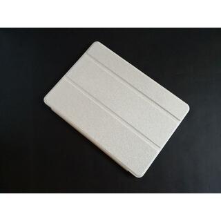 薄型軽量 iPad6世代/5世代/Air/Air2 用 ホワイト スマートケース(iPadケース)